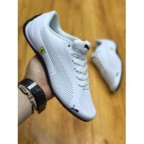 Tenis Zapatillas Puma Ferrari Blanca Hombre Envio Gratis
