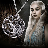 Collar Insignia Juego De Tronos Targaryen Dragón