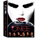Dvd Once Upon A Time - 1ª A 5ª Temporada - 25 Discos
