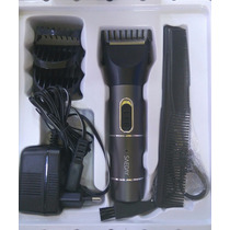 Maquininha Para Cortar Cabelo E Fazer Barba