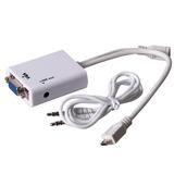 Cable Adaptador Mhl Para Samsung S3 S4 Microusb A Vga Sonido