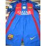 Camiseta Y Short Barcelona 2016 - 2017 Conjunto De Niños