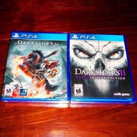 Lote 2 Vj Darksiders Warmastered Y Ii Deathinitive Ps4