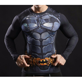 Camisa Superhéroes 3d 2017 Deportiva Gym Crossfit Marvel Mma