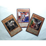Set - 3 Cards - Horus The Black Flame Dragon Lv4, Lv6 & Lv8