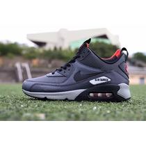 Zapatillas Nike Air Max 90 Sneakerboot En Caja + Tienda