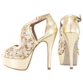 ca2203698 Sandalia Dourada Torricella Sandalias - Sapatos no Mercado Livre Brasil