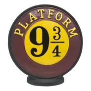 Cofre 3d Plataforma 9 3/4 Hogwarts Escola Bruxo Harry Potter
