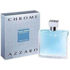 Azzaro Chrome Masculino Eau De Toilette Perfume Masc 100 Ml