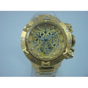1dff415476e Relógio Subaqua Noma V Dourado Azul - Relógios De Pulso no Mercado ...