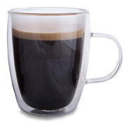 Vaso 270ml Cafe Te Doble Vidrio Termico