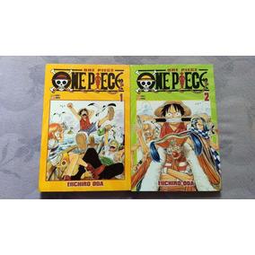 One Piece N° 1 E 2. Panini. Frete Grátis