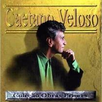 Cd De Musica Caetano Veloso Coleção Obras Primas Semi Novo