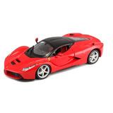 Bburago Vehículo De Carrera Ferrari Escala 1/24 Modelo Rojo