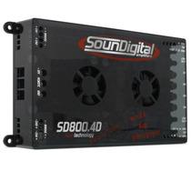Móduloampli/soundigital Evo4x200 Sd800.4. 4 Canais De 200 Rm