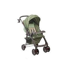 Carrinho De Bebê Berço Rubi Verde Angra Hercules Fretegrátis