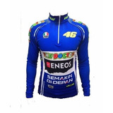 Camisa Ciclismo Ert Valentino Rossi Manga Longa Bike