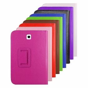 Capa Case Samsung Galaxy Tab3 7 T2110 + Pelicula De Vidro