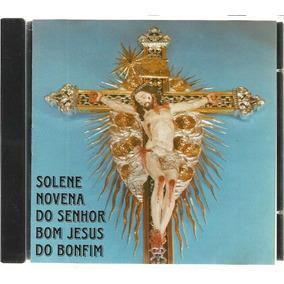 Cd Solene Novena Senhor Bom Jesus Do Bonfim Rare Sadoc 1996