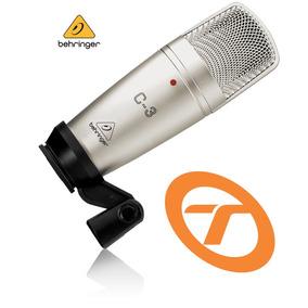 Microfone Behringer C3 Condenser C-3 Garantia Proshows C 3