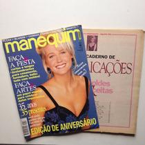 Revista Manequim Xuxa Edição De Aniversário Ano 1994 N°416