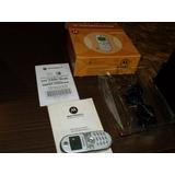 Celular Motorola C200 Com Caixa Manual Carregador