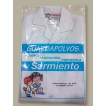 Guardapolvo Escolar Blanco Sarmiento Talle 8 Ultimos! Nuevos