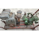 Compresor De Aire Naftero Con Motor Villa 4 1/2