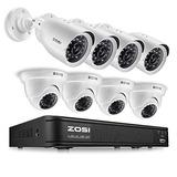 Sistema De Cámara De Seguridad Para El Hogar Zosi 720p Hd-t