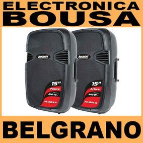 Bafle Activo Amplificado Bluetooth 15 Juego Lexsen Belgrano