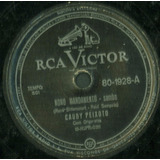 Disco Rotação 78 - Cauby Peixoto - Nono Mandamento - Meu Amo