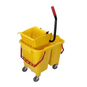 Balde De Limpeza Com Espremedor Para Água Suja / Limpa