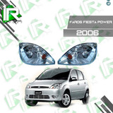 Faro Delantero Ford Fiesta Power 2004/2007
