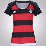 Camisa Do Flamengo Rj Feminina - 15/16 Hema Esportes
