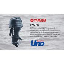 Yamaha 70 Hp, 4 Tiempos, Rosario.