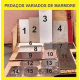 Retalhos De Marmore,marmore,marmore Nacional E Importado