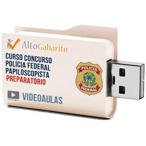 Pacote Aulas Concurso Papiloscopista Polícia Federal