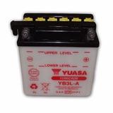 Bateria Moto Yuasa Dt180 - Xl250r - Xlx350 - Vespa (yb3la)