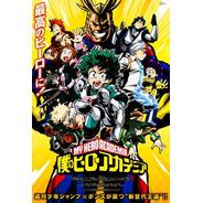 5 Posters Boku No Hero 33 X 48 Cm