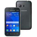 Celular Samsung Galaxy Young 2 Duos Cinza Seminovo