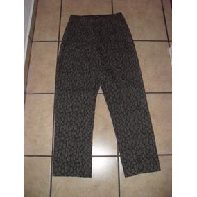Pantalón Mesmerize Animal Print Mujer Talla 8 (m) Corte Alto