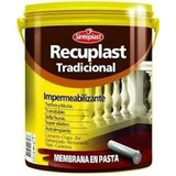 Recuplast Tradicional Membrana Pasta Imperm Techos/muros 20l