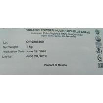 Inulina De Agave Azul $299 Kilo 100% Orgánica Certificada.