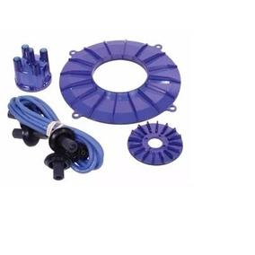 Kit De Acrílico Decorativo Do Motor Fusca Azul 01-8743