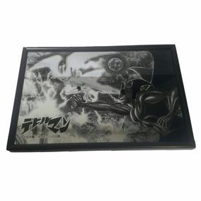 Quadro Japones Pintura Sobre Espelho Banpresto 18,3 X 12,2cm
