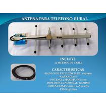 Antena Yagi Para Telefono Rural Telcel Huawei F317 Y Ets3125