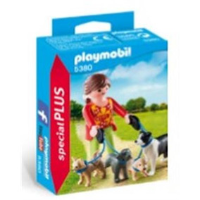 Mujer Con Perros Playmobil