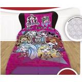 Cubrecama Monster High Con Funda Almohadon. Original Piñata
