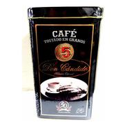 Café En Granos Premium 5 Hispanos Don Cándido Estuche D Lata