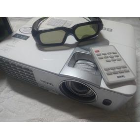 Projetor Bemq 3d Com Óculos Nvidia 3d